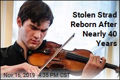 Stolen Strad Returns to the Scene of the Crime