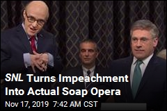 SNL Turns Impeachment Into Actual Soap Opera