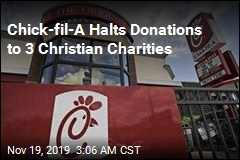 Chick-fil-A Ends Donations to Groups Against Gay Marriage