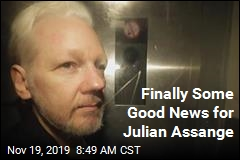 Finally Some Good News for Julian Assange