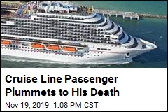 Cruise Line Passenger Plummets 4 Stories