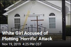Girl Planned 'Horrific Incident' in Black Church: Police