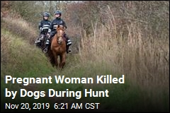 Pregnant Woman Killed by Dogs During Hunt