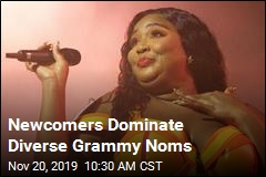Newcomers Dominate Diverse Grammy Noms