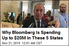 Bloomberg Spending Up to $20M to Register Voters