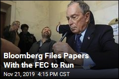 Paperwork Says Bloomberg Is In