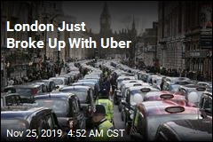 London Refuses to Renew Uber's License
