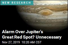 Alarm Over Jupiter's Great Red Spot? Unnecessary