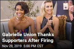Gabrielle Union Thanks Supporters After Firing