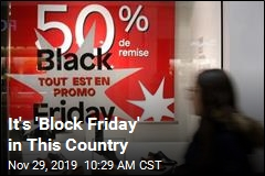 France May Ban Black Friday