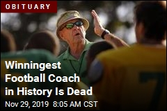 No Football Coach Won More Games Than Him