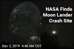 NASA Finds Debris From India Moon Lander