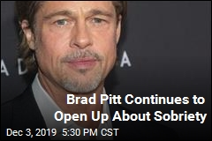 Brad Pitt Continues to Open Up About Sobriety