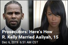 Prosecutors: Here's How R. Kelly Married Aaliyah, 15