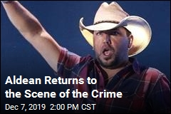Aldean Returns to the Scene of the Crime