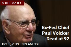 Ex-Fed Chief Paul Volcker Dead at 92