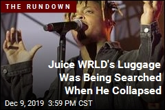 Agents Were Seizing Drugs and Guns When Juice WRLD Collapsed