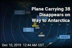 Plane Carrying 38 Disappears On Way to Antarctica