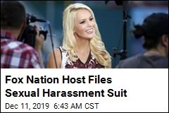 Fox Nation Host Files Sexual Harassment Suit