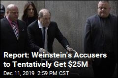Report: Weinstein, Accusers Looking at a $25M Deal