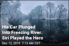Jeep Plunged Into Icy River. It Was Siri Who Called for Help