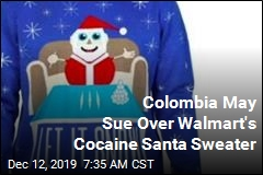 Colombia May Sue Over Walmart's Cocaine Santa Sweater