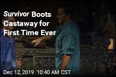 Survivor Boots Castaway for First Time Ever