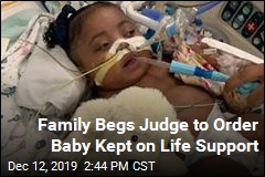 Judge to Decide Whether Baby's Life Support Can Be Removed