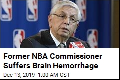 Former NBA Commissioner Suffers Brain Hemorrhage