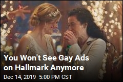 Under Pressure, Hallmark Ditches Gay Ads