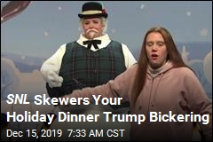 SNL Previews Your Holiday Dinner Hell