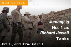 Jumanji Takes Down Frozen 2