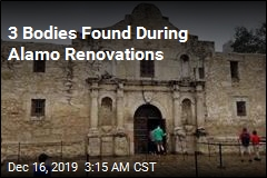 3 Bodies Found During Alamo Renovations