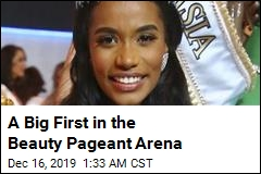 A Big First in the Beauty Pageant Arena