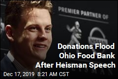 Donations Flood Ohio Food Bank After Heisman Speech