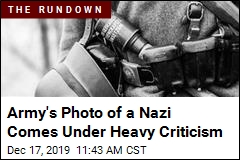Army's Photo of a Nazi Comes Under Heavy Criticism