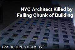 NYC Architect Killed by Falling Chunk of Building