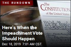Stage Is Set for Impeachment Vote