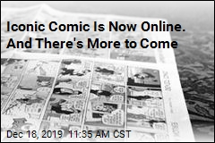 Iconic Comic Is Now Online. And There's More to Come