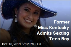 Former Miss Kentucky Admits Sending Nude Photos to Teen