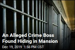 An Alleged Crime Boss Found Hiding in Mansion