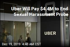 Uber Will Pay $4.4M to End Sexual Harassment Probe