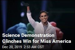 New Miss America Is a Biochemist