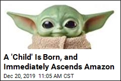 Baby Yoda Tops Amazon List— but Don't Get Too Excited Yet