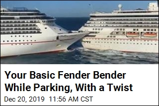 Just a Routine Fender Bender—With Cruise Ships