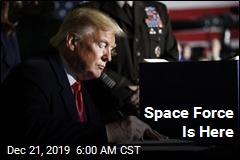 Trump Signs Space Force Into Life