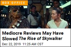 By Star Wars Standards , Skywalker's Rise is So-So