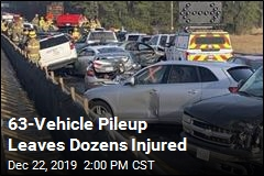 63-Vehicle Pileup Leaves Dozens Injured