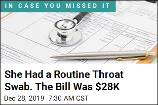 She Had a Routine Throat Swab. The Bill Was $28K
