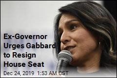 Ex-Gov. Urges Gabbard to Resign House Seat
